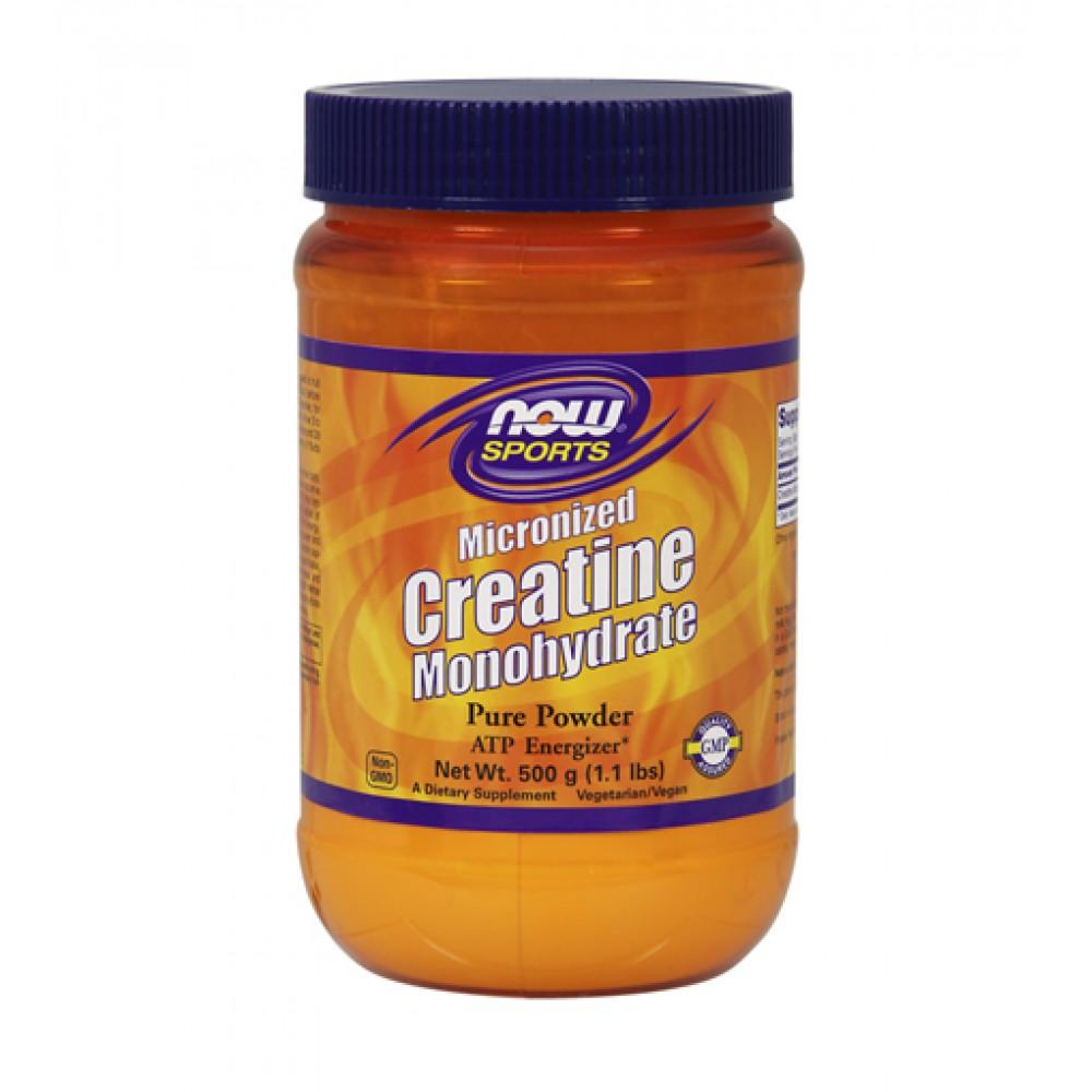 Creatine Monohydrate Micronized NOW (500 гр)