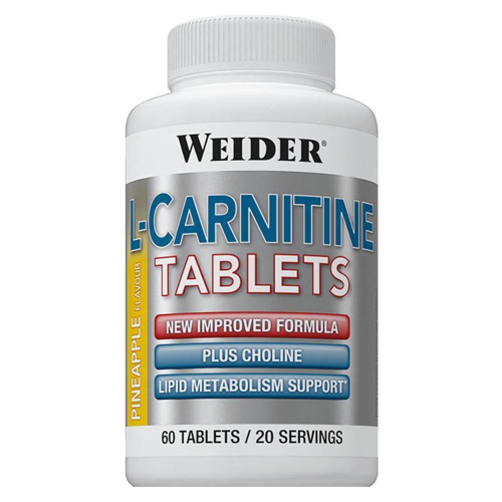L-Carnitine Tablets Weider (60 табл)