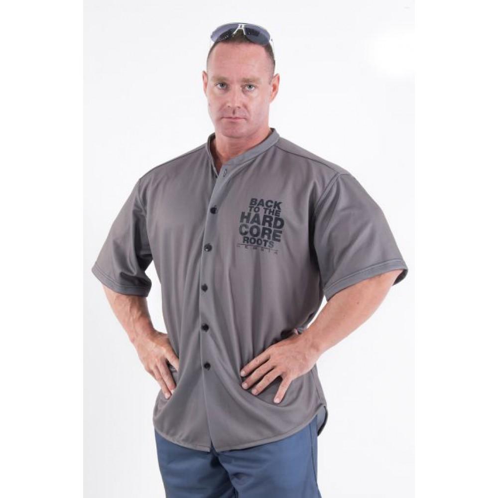 Рубашка на пуговицах Hardcore 304 Grey