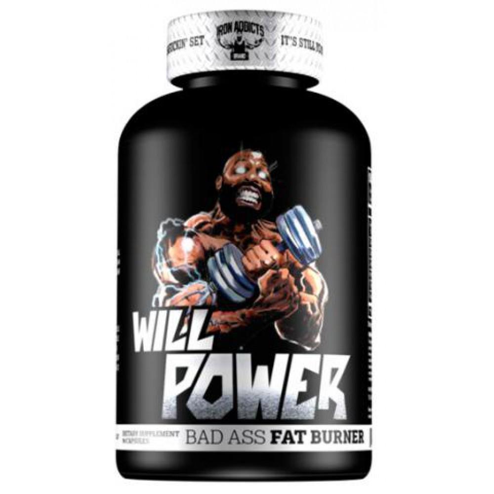 Will Power Fat Burner Iron Addicts (60 капс)