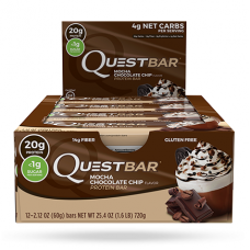 Quest Bar Mocha chocolate chip Quest Nutrition (60 гр)