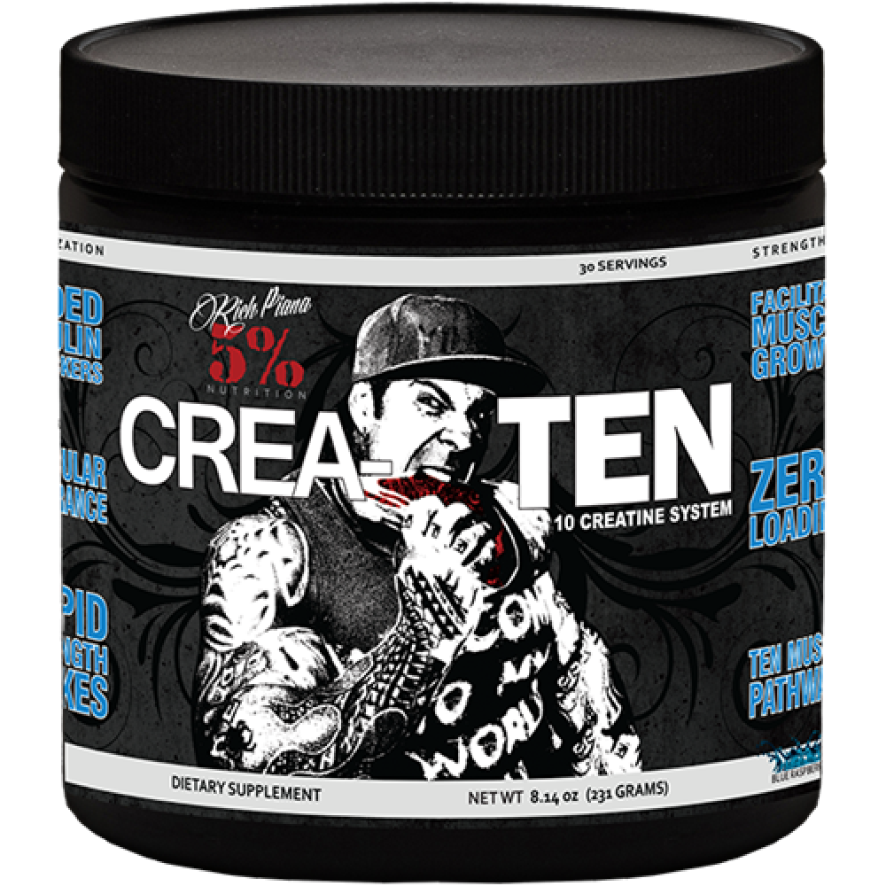 Crea-tеn Rich Piana 5% Nutrition (231 гр)