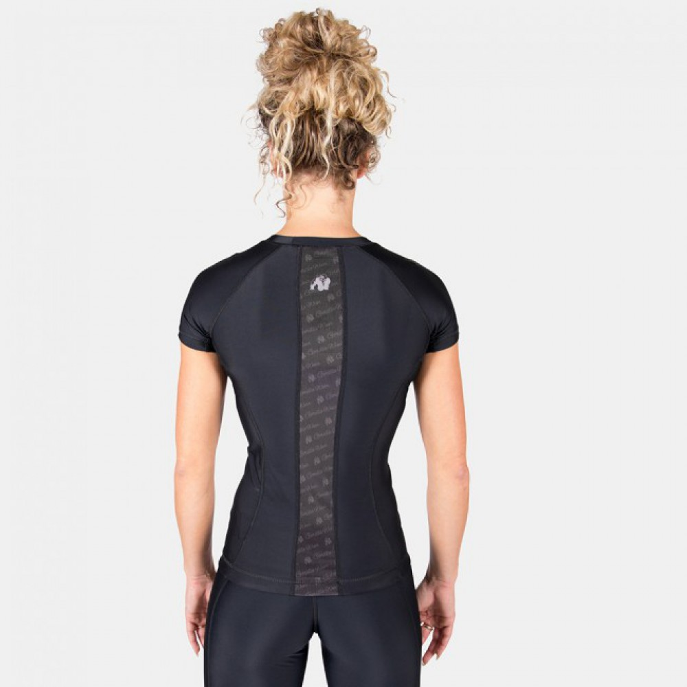 Футболка Carlin Compression Short Sleeve Black Black