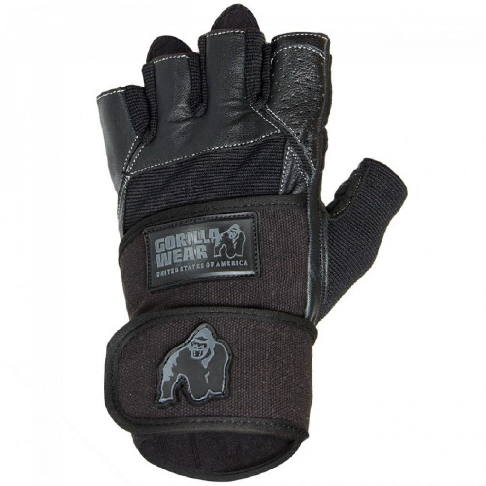 Перчатки мужские Dallas Wrist Wrap Gloves Black