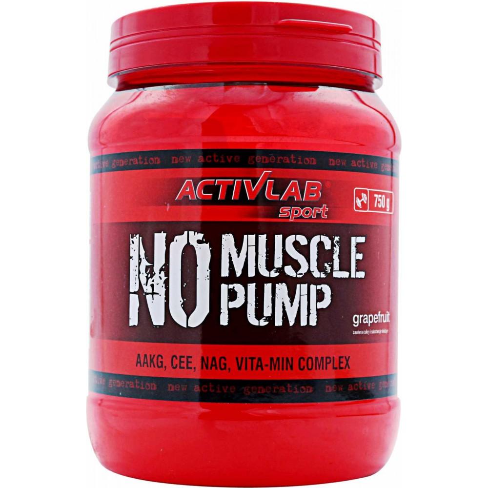 Предтренировочный комплекс NO Muscle Pump Activlab (750 г)