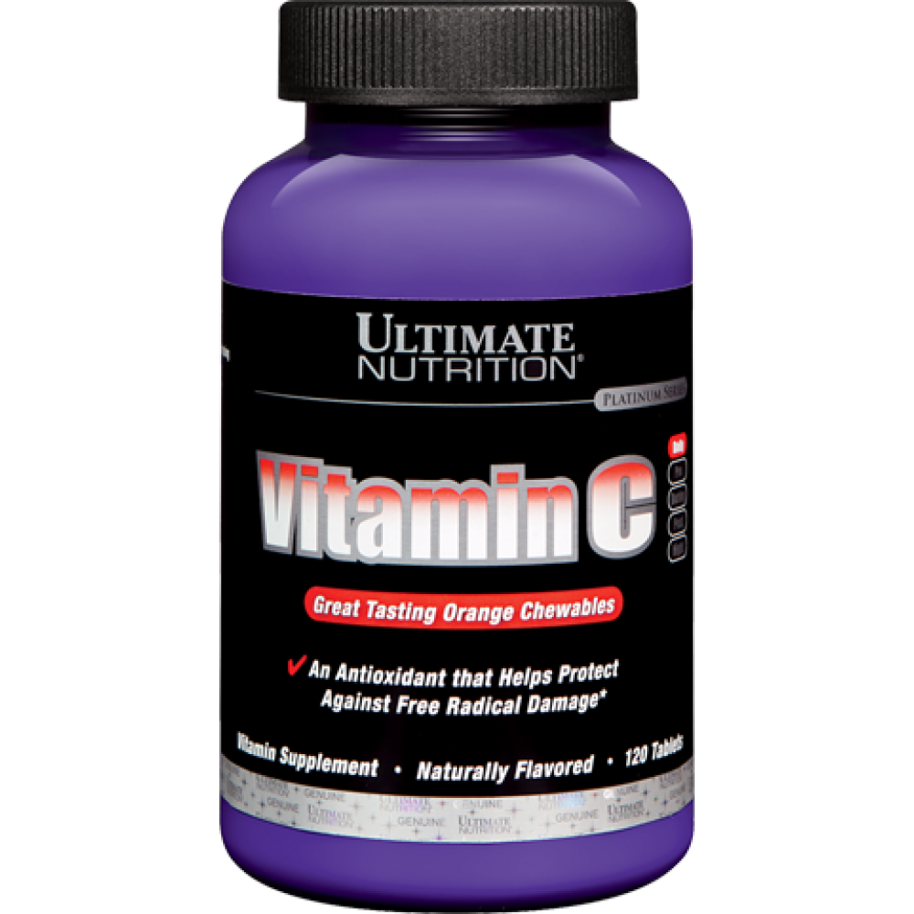 Vitamin C Chews Orange Ultimate Nutrition (120 табл)