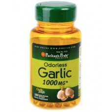 Odorless Garlic 1000 mg 100 Capsules