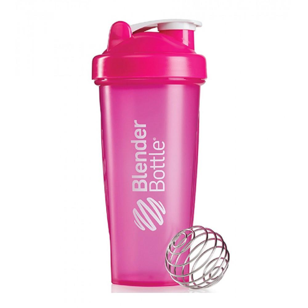 Шейкер Classic Blender Bottle розовый (820 мл)