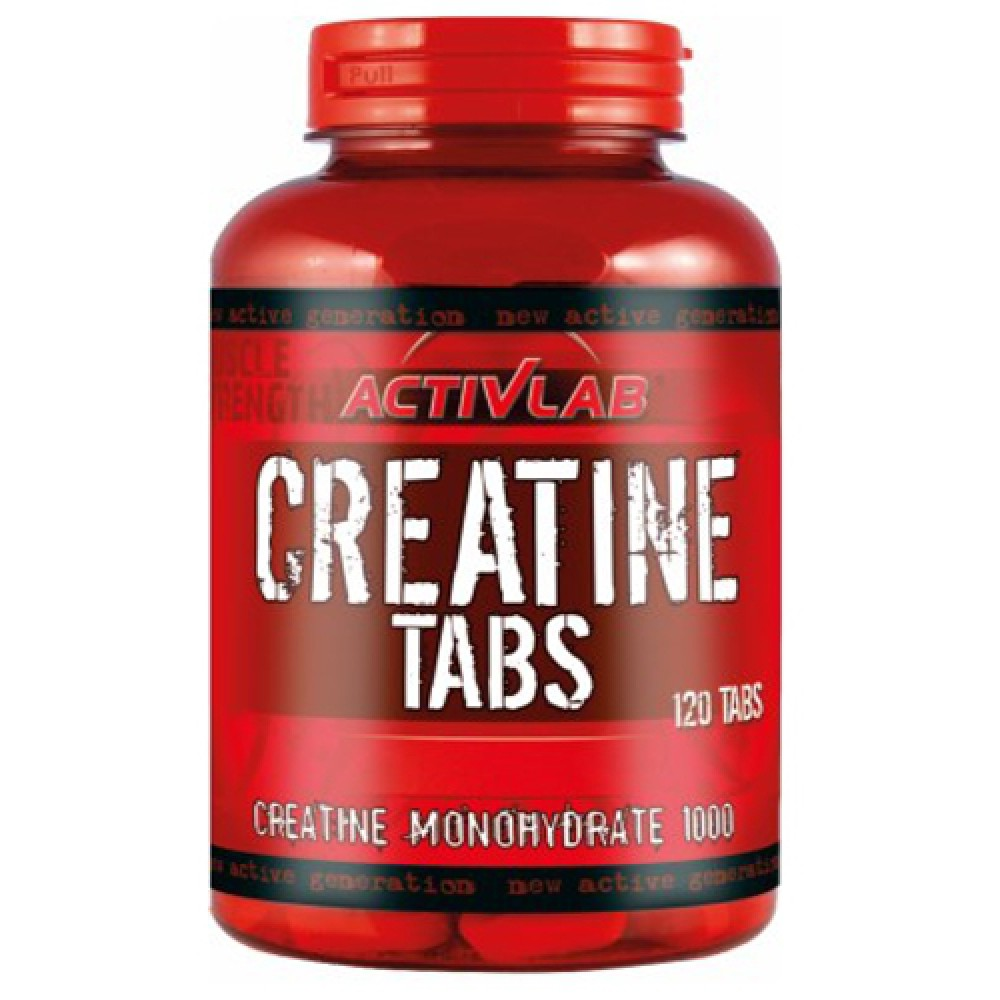 Креатин Creatine Tabs Activlab (120 табл.)