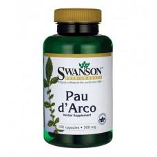 Pau d'Arco 500 mg Swanson (100 капс)