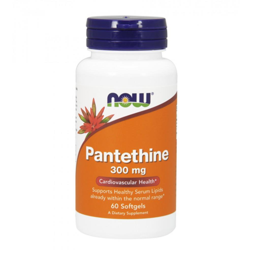 Pantethine 300 mg NOW (60 капс)