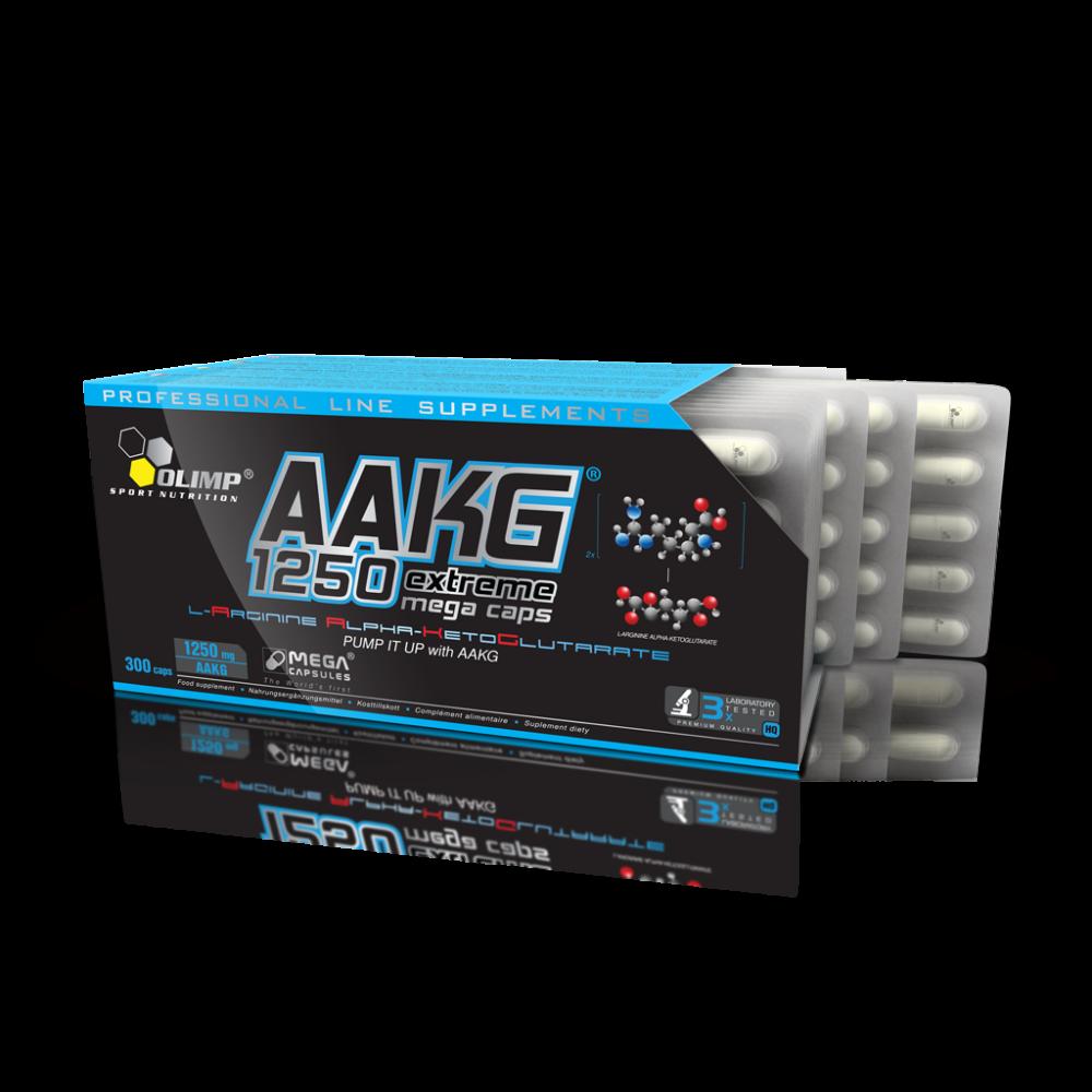 AAKG 1250 Extreme Mega Caps Olimp (300 капс)