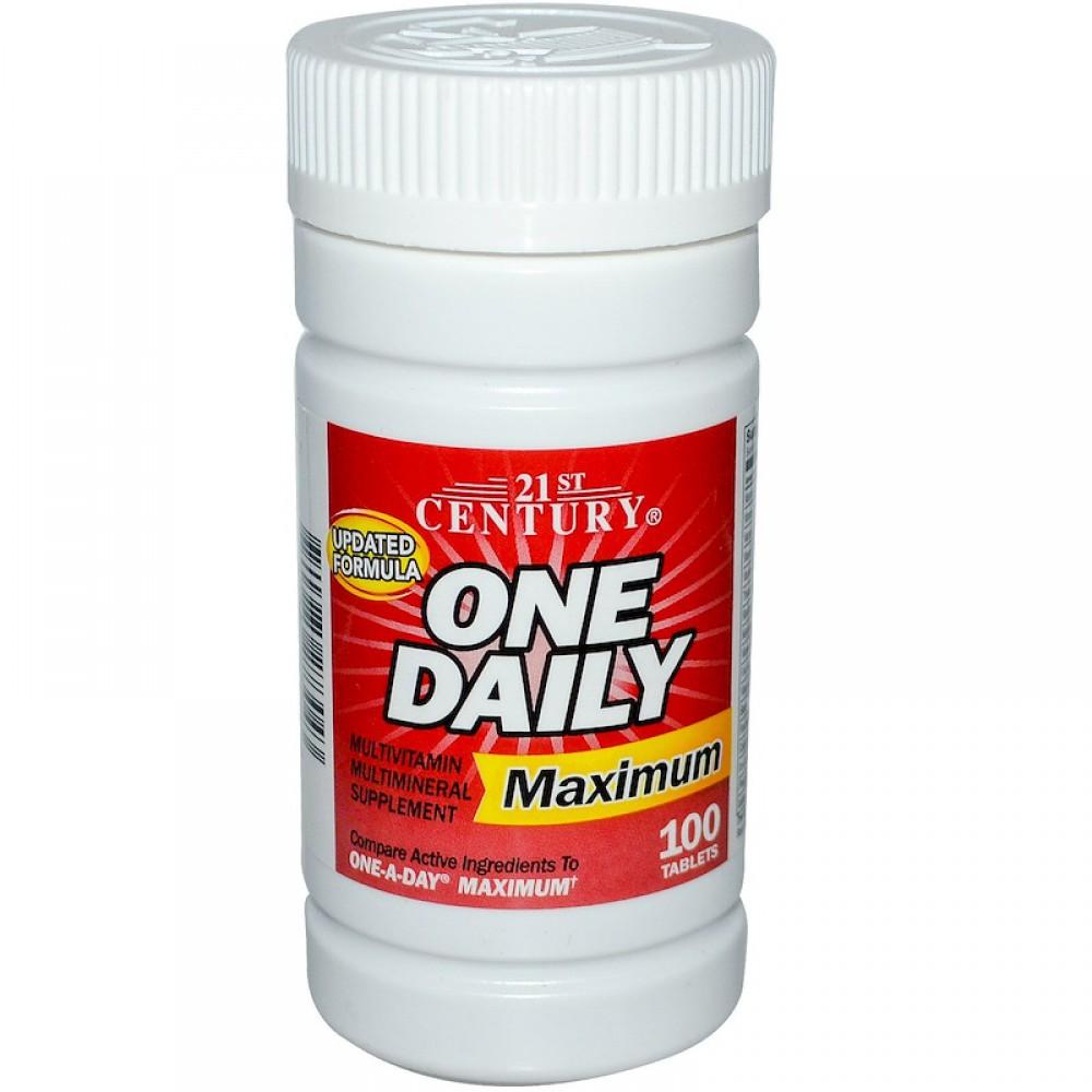 One Daily Maximum 21st Century (100 табл)