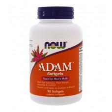 ADAM Men's Multiple Vitamin Softgels NOW (90 капс)