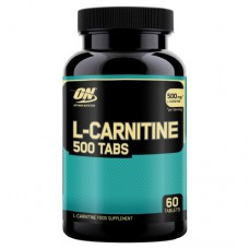 L-карнитин L-Carnitine 500 Tabs Optimum Nutrition (60 табл)
