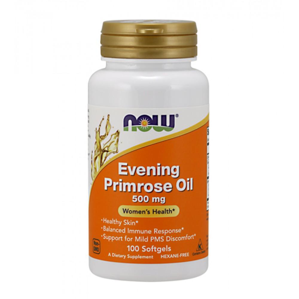 Evening Primrose Oil 500 mg NOW (100 капс)