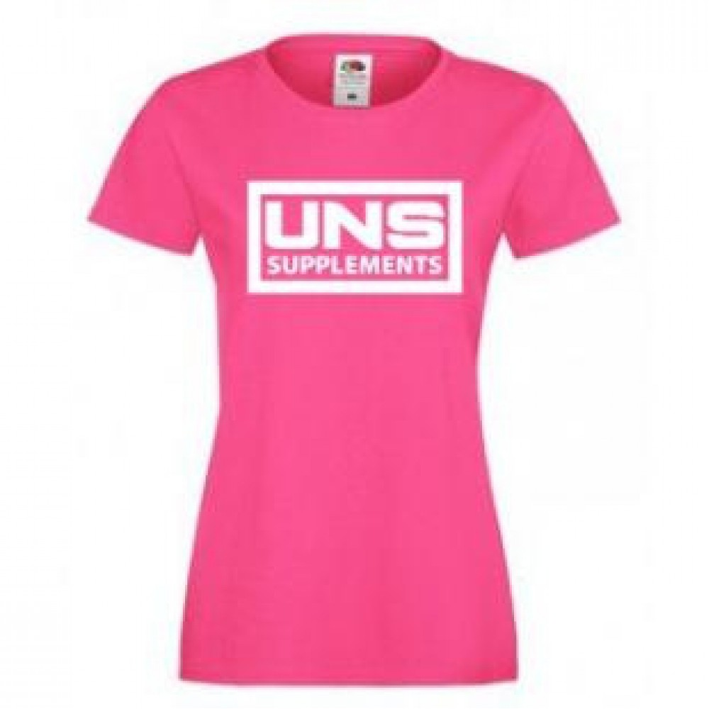 T-Shirt Pink UNS Supplements