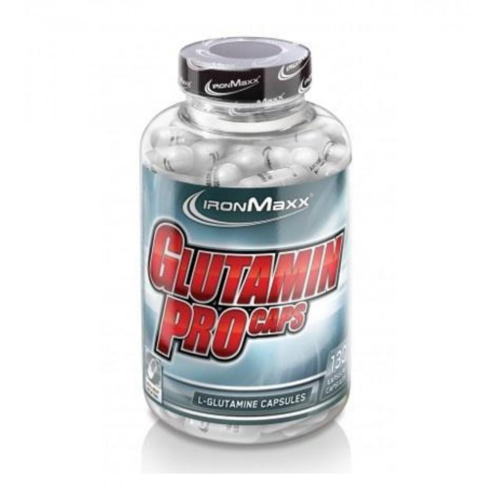 Glutamin Pro Caps IronMaxx (130 капс)