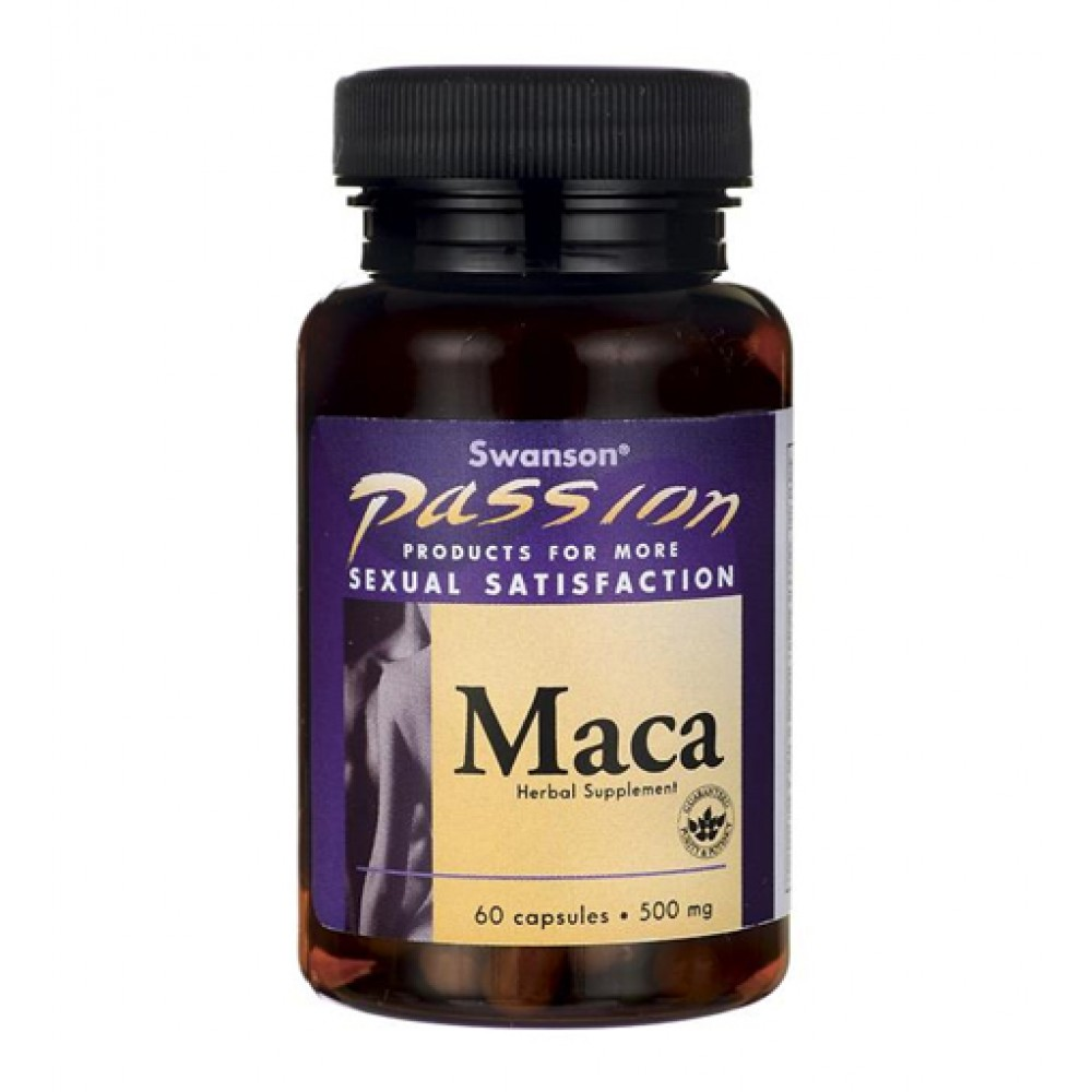 Maca 500 mg Swanson (60 капс)