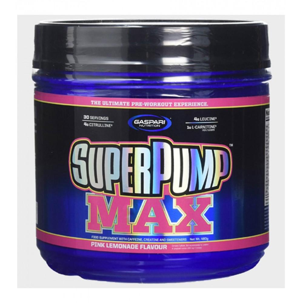 SuperPump MAX Gaspari Nutrition (480 гр)