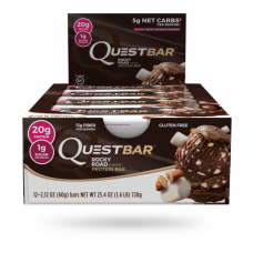 Quest Bar Rocky road Quest Nutrition (60 гр)