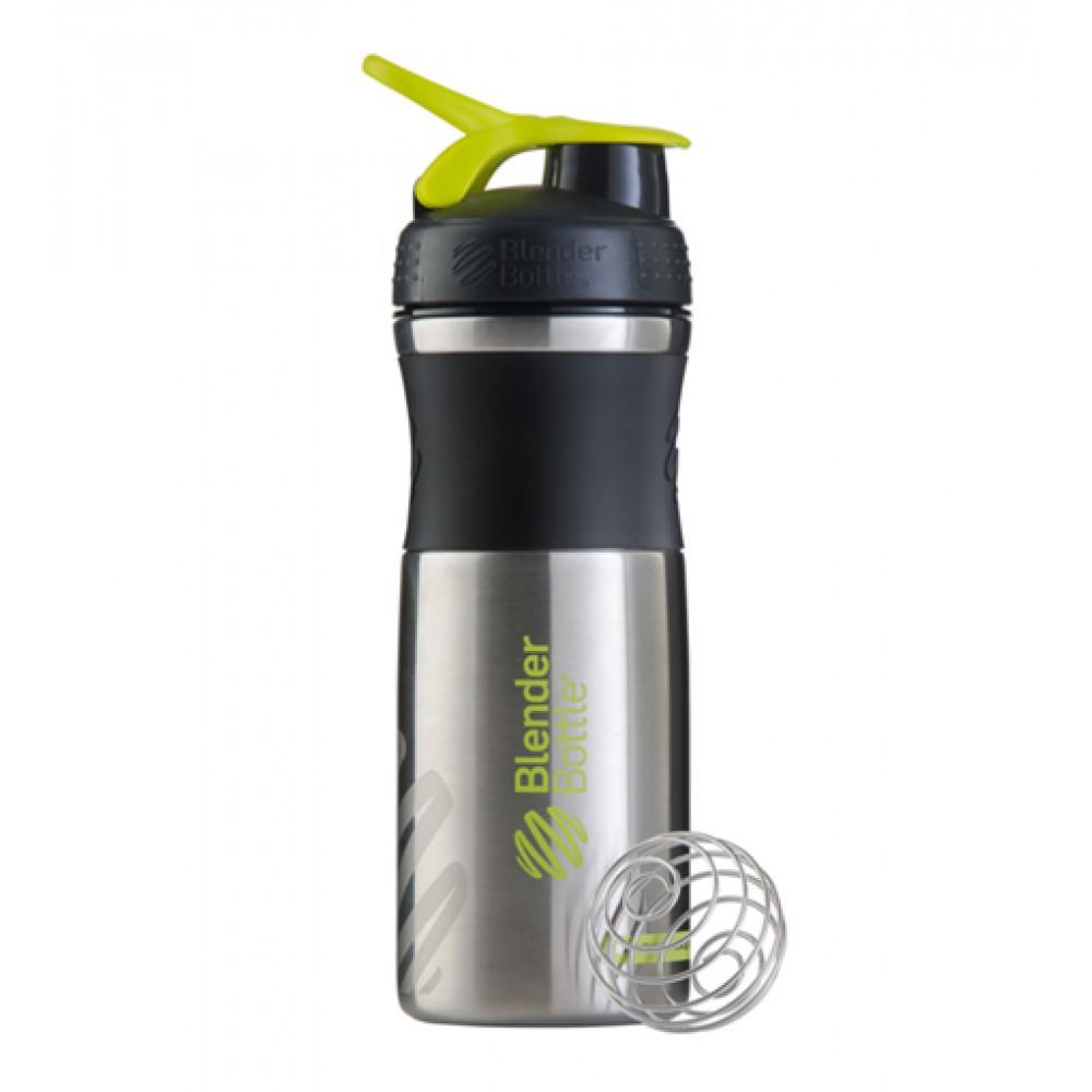 Бутылка Sportmixer Stainless Steel Blender Bottle зеленая (820 мл)