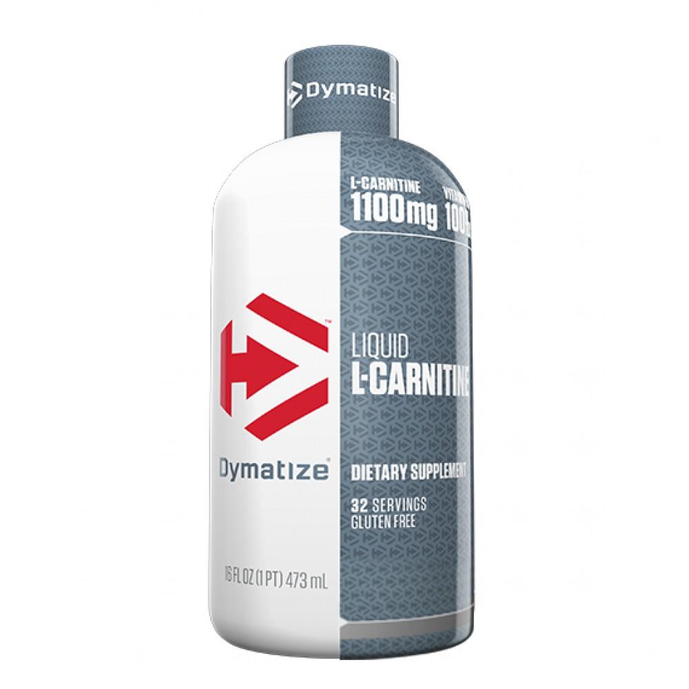 L-Carnitine Liquid 1100 Dymatize Nutrition (473 мл)