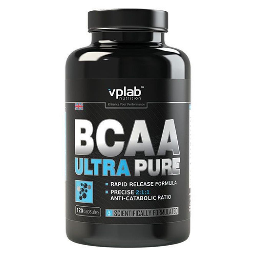 BCAA Ultra Pure VP Lab (120 капс)