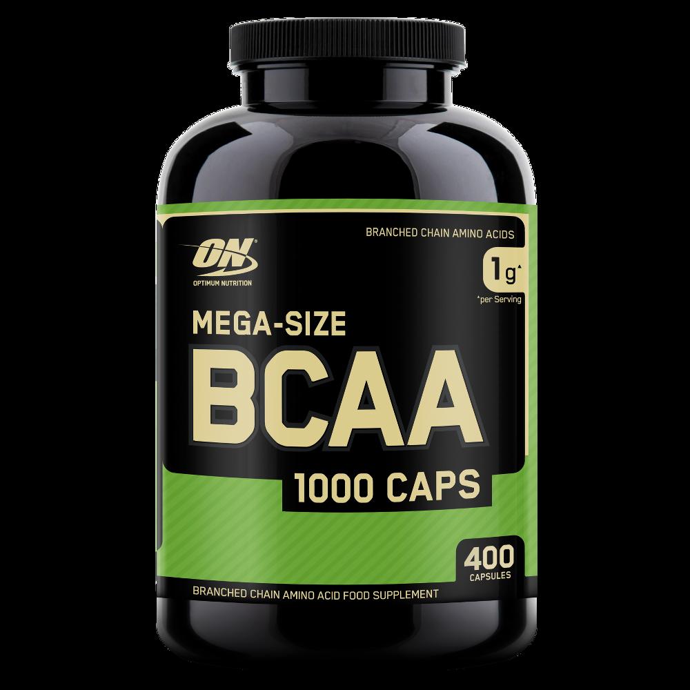 Аминокислоты BCAA 1000 Caps Optimum Nutrition (400 капс)