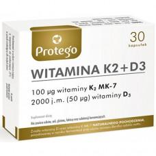 Protego Witamina K2+D3 Salvum Lab (30 капс)