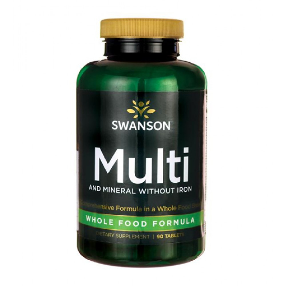 Whole Food Multivitamin without Iron Swanson (100 табл)