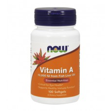 Vitamin A 10000 IU NOW (100 капс)
