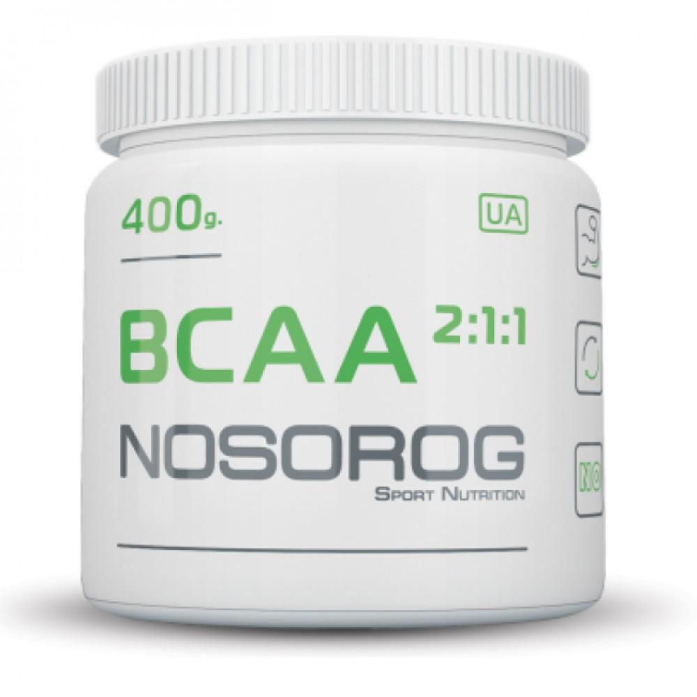 BCAA 2:1:1 Nosorog Nutrition (400 гр)