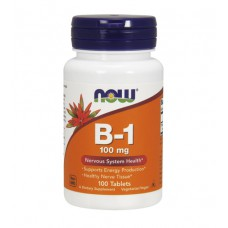 Vitamin B-1 100 mg NOW (100 табл)