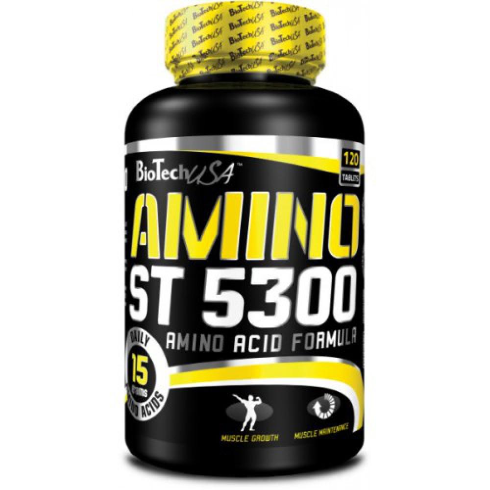 Аминокислоты Amino ST 5300 BioTech USA (120 табл.)