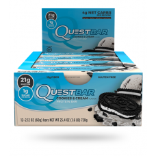 Quest Bar Cookies & cream Quest Nutrition (60 гр)