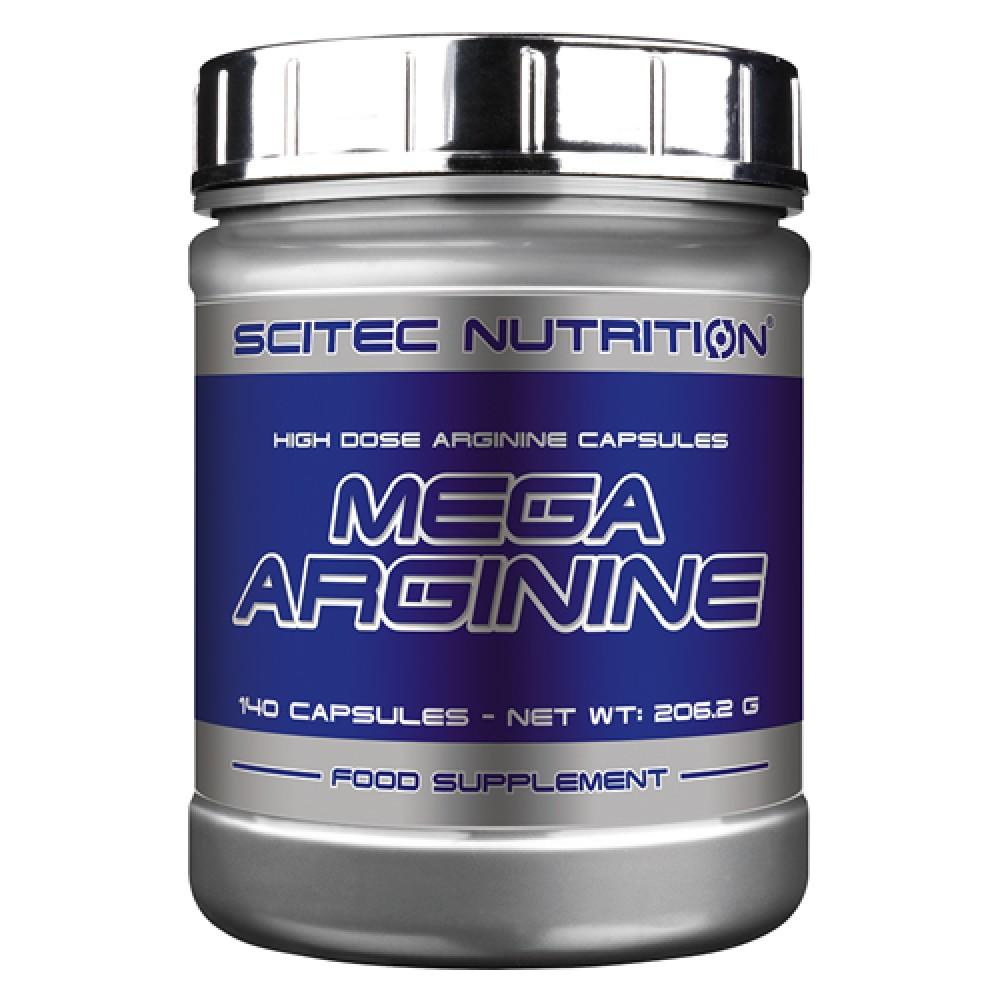 Mega Arginine Scitec Nutrition (140 капс)