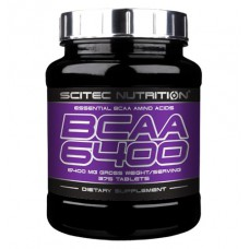 BCAA 6400 Scitec Nutrition (375 табл)