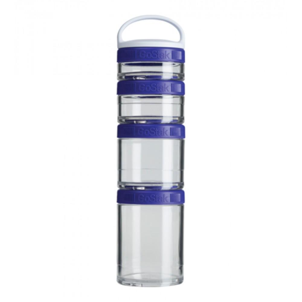 Контейнеры GoStak 4 Pak Blender Bottle синие