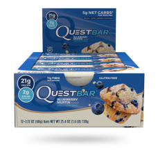 Quest Bar Blueberry muffin Quest Nutrition (60 гр)