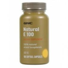 Intel Natural Vit E 100iu   Gnc (100 капс)