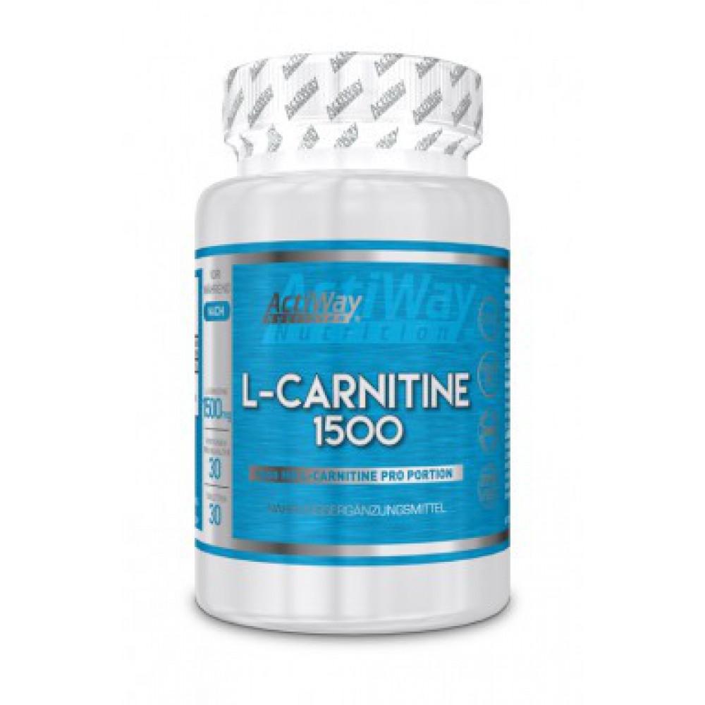 L-Carnitine 1500 ActiWay (30 табл)