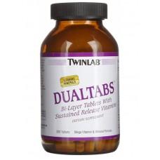 Витамины Dualtabs Twinlab 200 табл