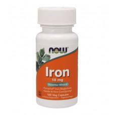 Iron 18 mg NOW (120 капс)