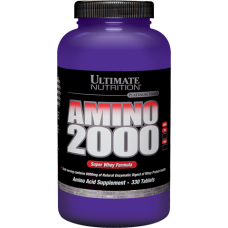 Amino 2000 Ultimate Nutrition (330 табл)