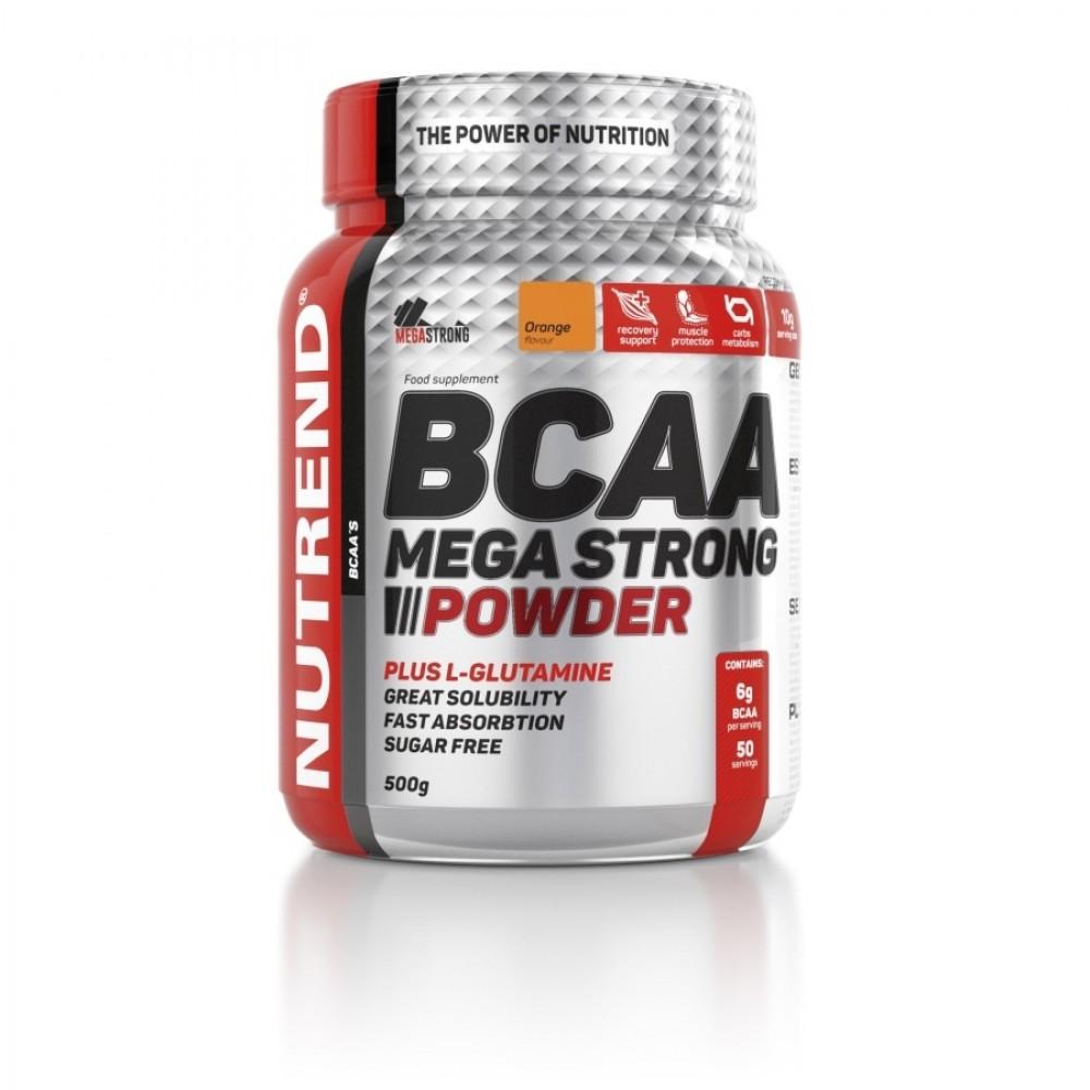 Mega Strong BCAA Nutrend (500 гр)