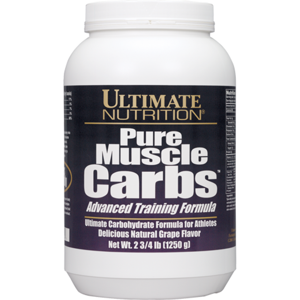 Pure Muscle Carbs Ultimate Nutrition (1250 гр)