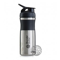 Бутылка Sportmixer Stainless Steel Blender Bottle черная (820 мл)