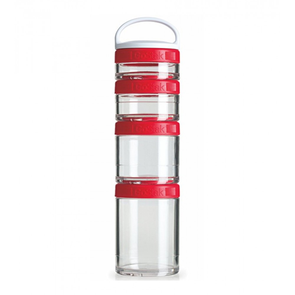 Контейнеры GoStak 4 Pak Blender Bottle красные