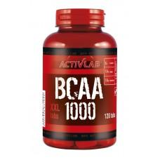 Аминокислоты BCAA 1000 Activlab (120 табл)